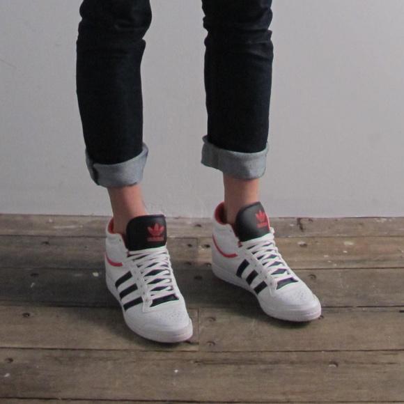 promo code b91ec 4ba04 adidas Shoes - Adidas high top sneakers  sleek series